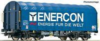 "Roco HO 76448 Slide tarpaulin freight wagon ""Enercon"""