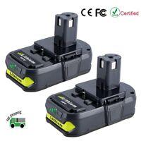 2-Pack 18V 2.5Ah P102 P105 P107 P108 Lithium Battery for Ryobi 18-Volt ONE+ Tool