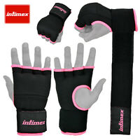 INTIMEX Inner Gel Gloves Punch Bag Hand Wraps Boxing Padded UFC MMA Mitts Kick