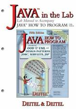 Java How to Program Lab Manual (5th Edition)-ExLibrary