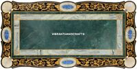 Antique Marble Console Table Side Top Inlay Semi Precious Work Outdoor Art H3866