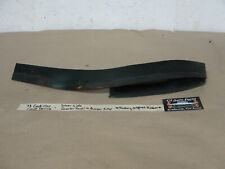 OEM 73 Cadillac Coupe Deville LEFT DRIVER SIDE REAR QUARTER PANEL BUMPER FILLER
