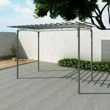 vidaXL 40791 Garden Arbor Rose Arch Steel - Brown