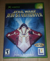 Star Wars Jedi Starfighter Game For Original Xbox, NEW Sealed, Y-Folds