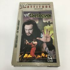 WWF - Unforgiven 1998 (VHS, 1998) in your house WWE UNDERTAKER