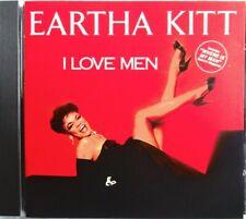"EARTHA KITT - CD ""I LOVE MEN"" INCLUDES ""WHERE IS MY MAN"" ORIGINAL METRONOME 1984"