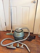 Vintage Eureka Green Canister Vacuum cleaner Accessories mid century model 800