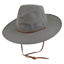 Brixton Ranger II Hat Men's Wide Brim in Grey Size Large