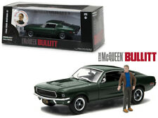 Greenlight 1:43 864333 1968  FORD MUSTANG GT BULLITT WITH FIGURE