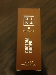 3INA MAKEUP x Primark Liquid Foundation Custom Drops Brand New