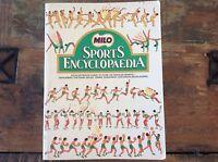 MILO SPORTS ENCYCLOPAEDIA COLLECTORS BOOK NATIONAL LIBRARY OF AUSTRALIA NESTLE