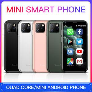 XS11 Super Mini Smartphone Android 1GB+8GB 2.5''Quad Core  3G Cute Mobile Phone