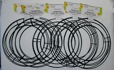 """New Floral Garden (5 Packs) 8"""" Metal Wire Wreath Form Forms Craft (10 Total)"""