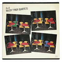 McCoy Tyner Quartets - 4 X 4 - Near Mint 1980 Vinyl LP x 2 - Milestone M-55007