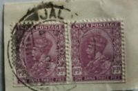 INDIA Postage n°134 INDE 1932 King Georges V Timbre Stamp Briefm. 1 Anna 3 Pies