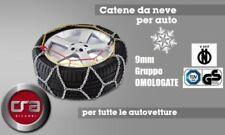 CATENE DA NEVE OMOLOGATE 9mm PER GOMME AUTO GRUPPO 50 195/45-15   NORDEST