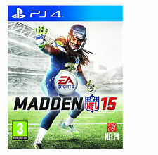 NEW SEALED Official Licensed Madden NFL 15 PS4 Sports Game NFL15 Amrcan Football