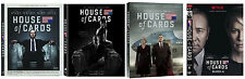 House of Cards Complete ALL Season 1-4 Series DVD Set Collection TV Show Box Lot