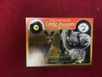CB1013) Australia 2011 Perth Mint Little Aussies Miniature Two-Coin Set