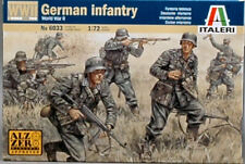 German Infantry Plastic Kit 1:72 Model ITALERI