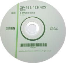 CLONE XP-422 423 425 SERIES EPSON PRINTER SOFTWARE DRIVER DISC  ON CD / DVD