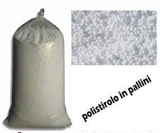 POLISTIROLO IN PALLINI IMBALLAGGIO POUF PUFF PUF EDILIZIA 33 ESP 150  2,5 KG