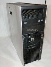 HP Z620 Workstation-Intel Quad Core Xeon 3.3GHz (E5-2643)-32GB-128GB SSD-Q4000