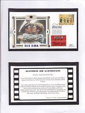 GB 1995 Greetings Stamps Benham silk Series The Kiss Unadressed FDC