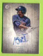 2014 Bowman Inception Prospect Autograph - Adam Walker (PA-AW)  Minnesota Twins