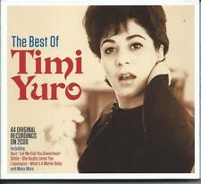 Timi Yuro - The Best Of [Greatest Hits] 2CD NEW/SEALED