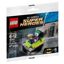 LEGO BATMAN POLYBAG WITH MINIFIGURE JOKER BUMPER CAR 30303 BUILDING TOY