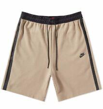Nike Tech Fleece Zip Corto caqui y negro tamaño mediano 833935-235
