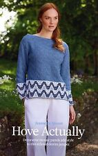 ~ Knitting Pattern For Lady's Stunning Mosaic Panel Sweater ~