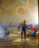 GABRIEL, H.M. (XIX-XX) LISTED ARTIST DUTCH OIL / BOARD