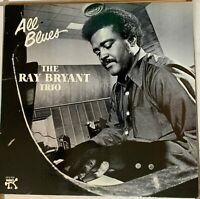 """RAY BRYANT TRIO~Pre-Owned LP """" ALL BLUES"""" PABLO RECORDS 2310 820..PLAYED ONCE"""