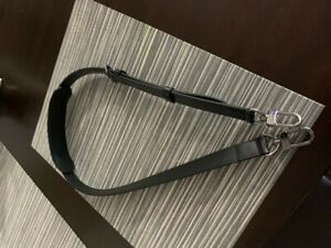 Louis Vuitton Strap Ebene Adjustable for Bandouliere Keepall Luggage-BLK