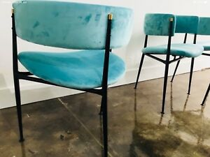 Mid Century Retro Vintage 1950s Atomic Age Dining Chairs