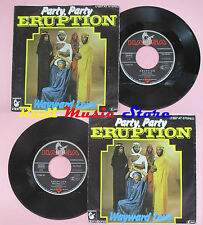 LP 45 7'' ERUPTION Party party Wayward love 1977 germany HANSA no cd mc dvd vhs