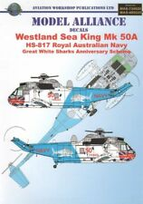 Modello ALLEANZA Decalcomanie 1/48 Sea King Mk.50A GRANDI SQUALI BIANCHI # 489020