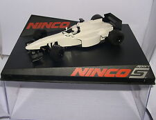 NINCO 50700 SLOT CAR FORMULA 1 WHITE MB