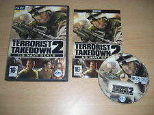 TERRORIST TAKEDOWN 2 US Navy Seals  Pc DVD Rom  Fast Delivery