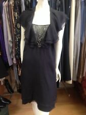 catherine malandrino Black Silk Dress, Sz 8 US (10 Aus) New With Tags, RRP $1150