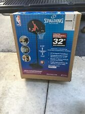 """Spalding Youth 32"""" Eco-Composite Portable Basketball Hoop 558682 (brand new)"""