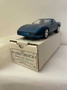 1995 Corvette Promo ZR-1 Bright Aqua Metallic 1 Of 48 made Original Box New