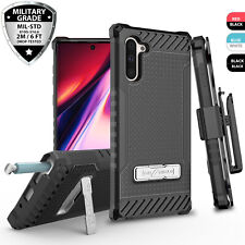For Samsung Galaxy Note 10/Plus Phone Case Metal Kickstand Belt Clip Holster