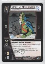 2004 Vs System Dc Justice League of America #Djl-054 Martian Manhunter Card 3v2