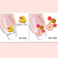 2Sheet/Exquisite Fashionable Hot DIY Nail Stickers XF1291+1183