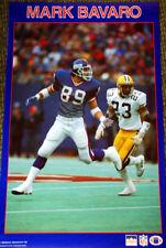 Rare Vintage Original MARK BAVARO 1988 New York Giants Starline NFL Wall POSTER