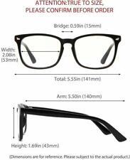 Blue Light Blocking Computer Glasses Filter UV400 Gaming Reading Glasses UNISEX