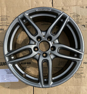 "Mercedes Benz A Class W176 AMG Single Alloy Wheel A1764010700 7.5Jx18 18"" ET52"
